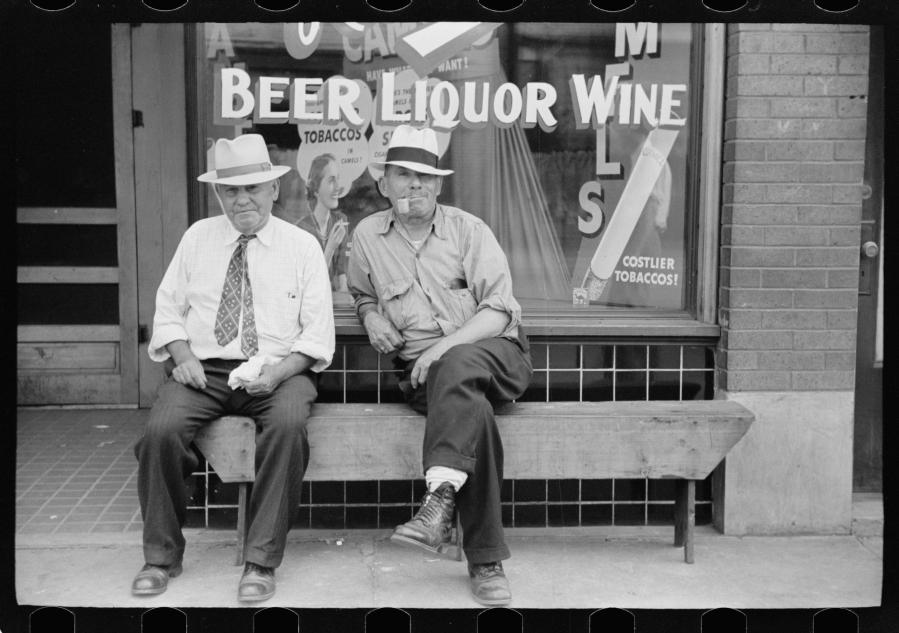 Arthur Rothstein Trabajadores de acero Midland Pennsylvania jul