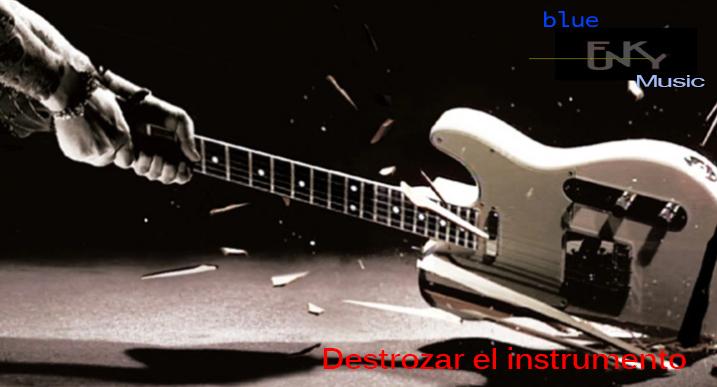 destrozar el instrumento